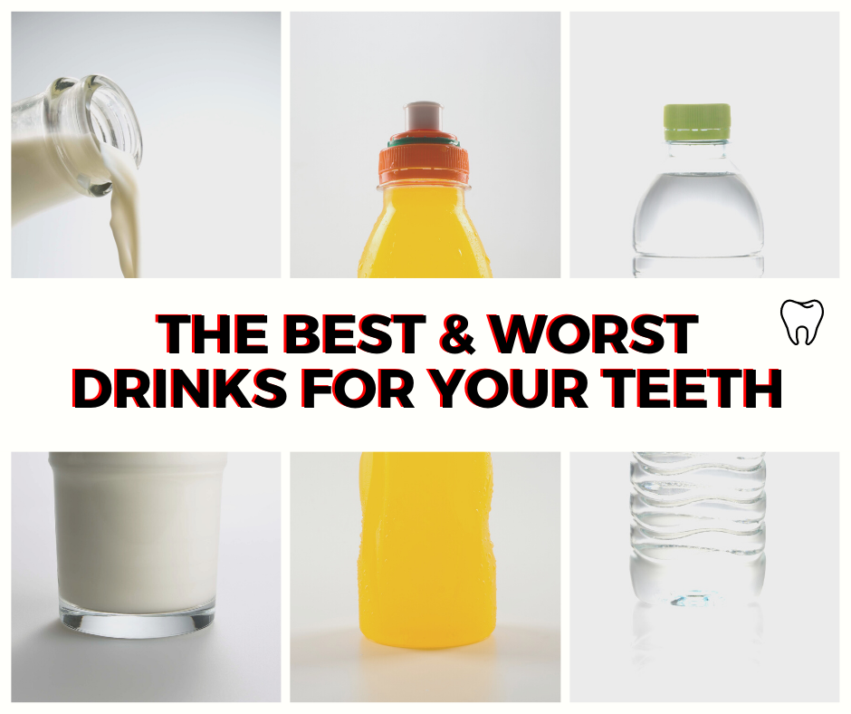 Best and Worst Drinks for Your Teeth